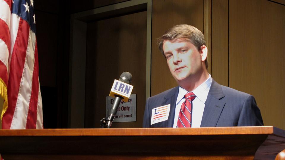 Virus Outbreak-Louisiana Congressman
