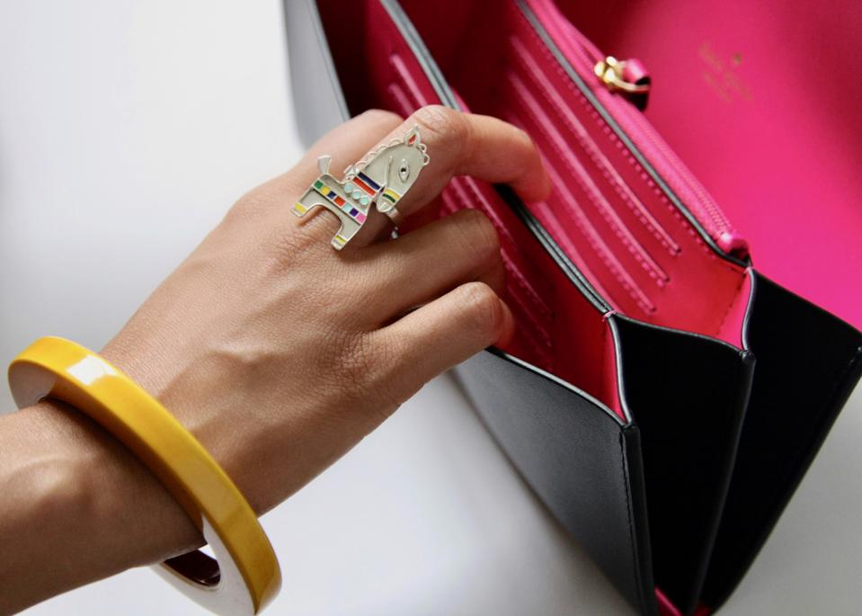 A horse statement ring from Lai's 'folklore' collection.