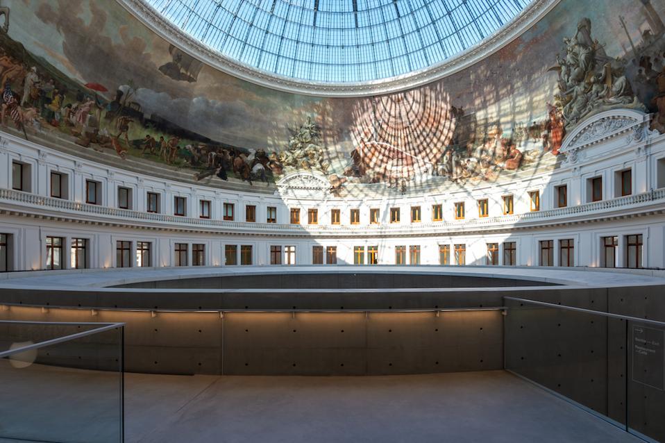 Inside the Bourse de Commerce — Pinault Collection