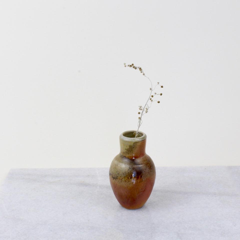 The Wood-Fired Bud Vase II ($40) from Meghan Flynn Ceramics.