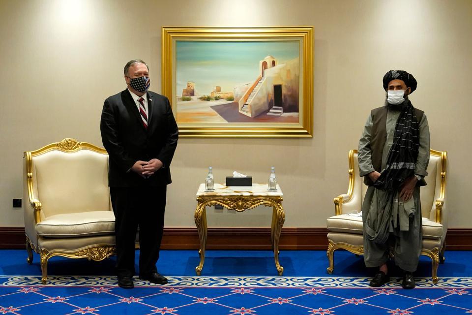 QATAR-US-DIPLOMACY-POMPEO-TALIBAN