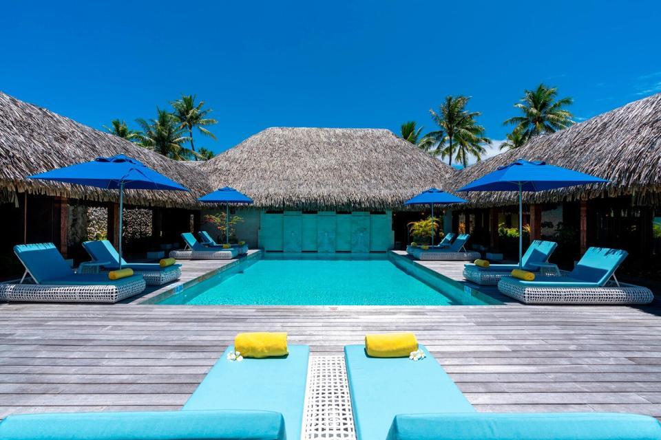 St Regis Bora Bora Royal Estate Pool