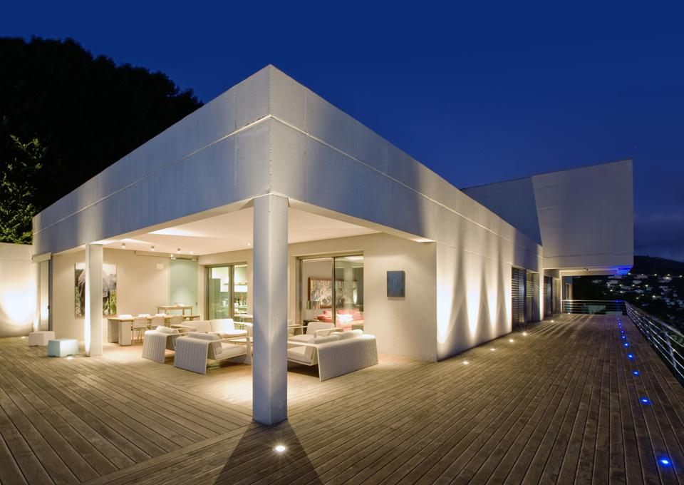 A contemporary home in Spain.