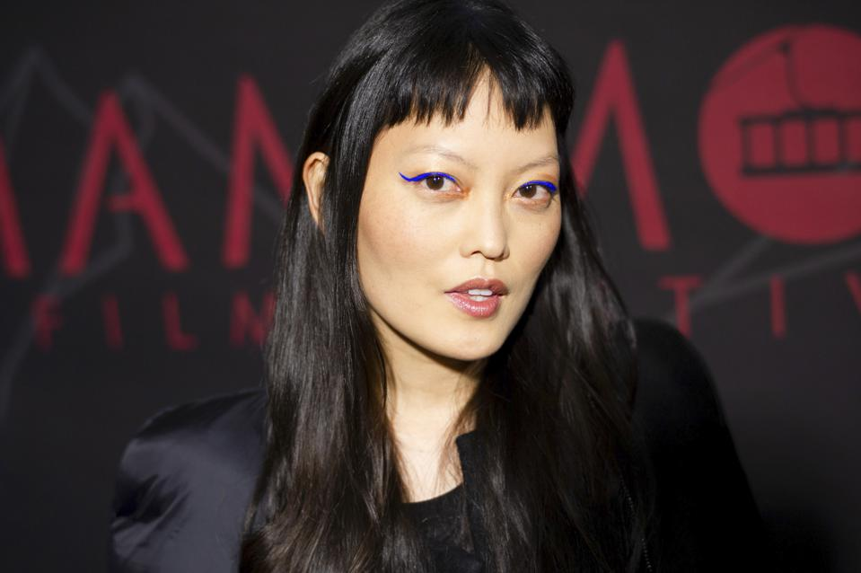 Actress Hana Mae Lee at a film festival in 2020