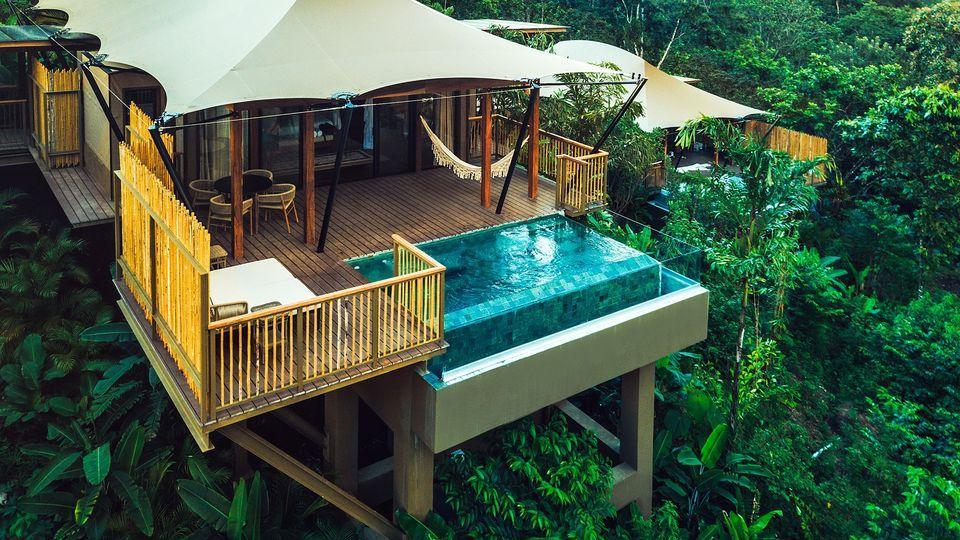villa jungle Costa Rica Nayara Tented Camp.