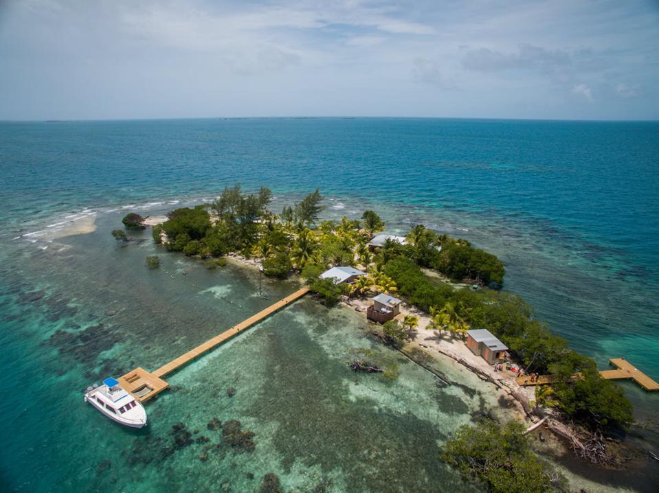 Belize Coral Caye private-island escape coppola