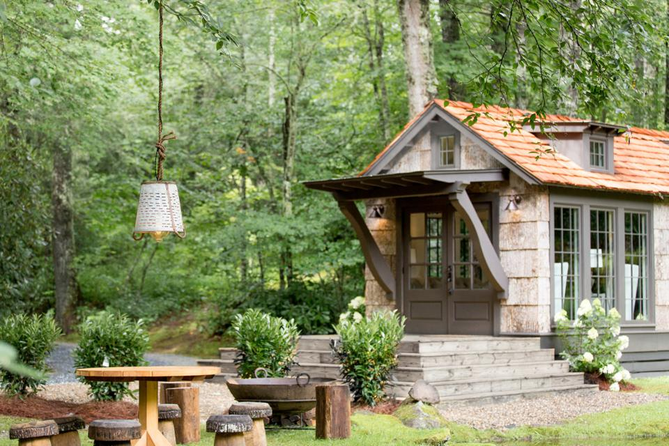 The Preserve has a number of beautiful residences, from small cabins to larger homes.