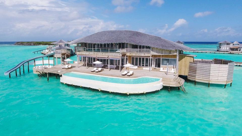 Soneva Jani overwater villa