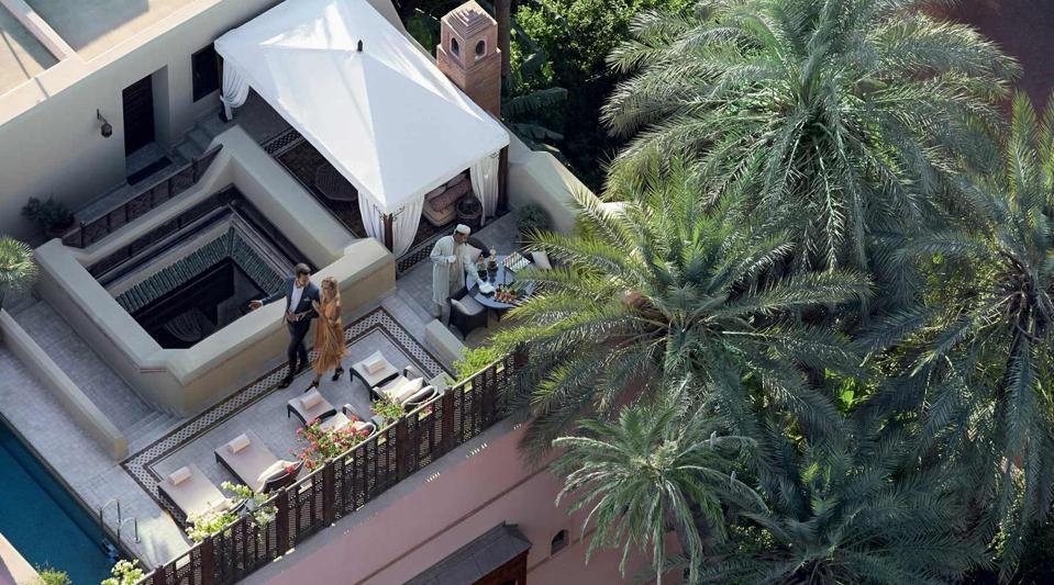 private villa riad Royal Mansour marrakesh morocco