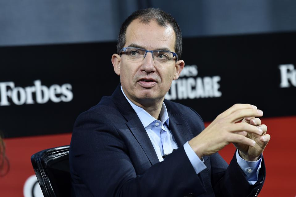 Moderna CEO Stephane Bancel at the 2019 Forbes Healthcare Summit