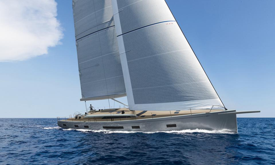 Here's what the new Swan 88 looks like.