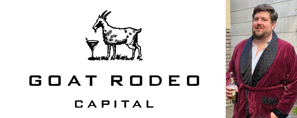 The Goat Rodeo Capital logo and an image of Carlton Fowler