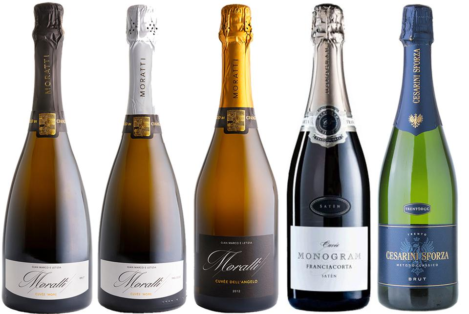 Northern Italy specializes in sparkling wines