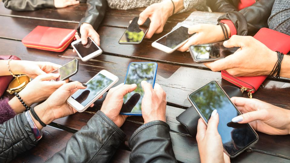 Mobile usage continues to grow across the population and the younger generations are particularly committed to their phones.