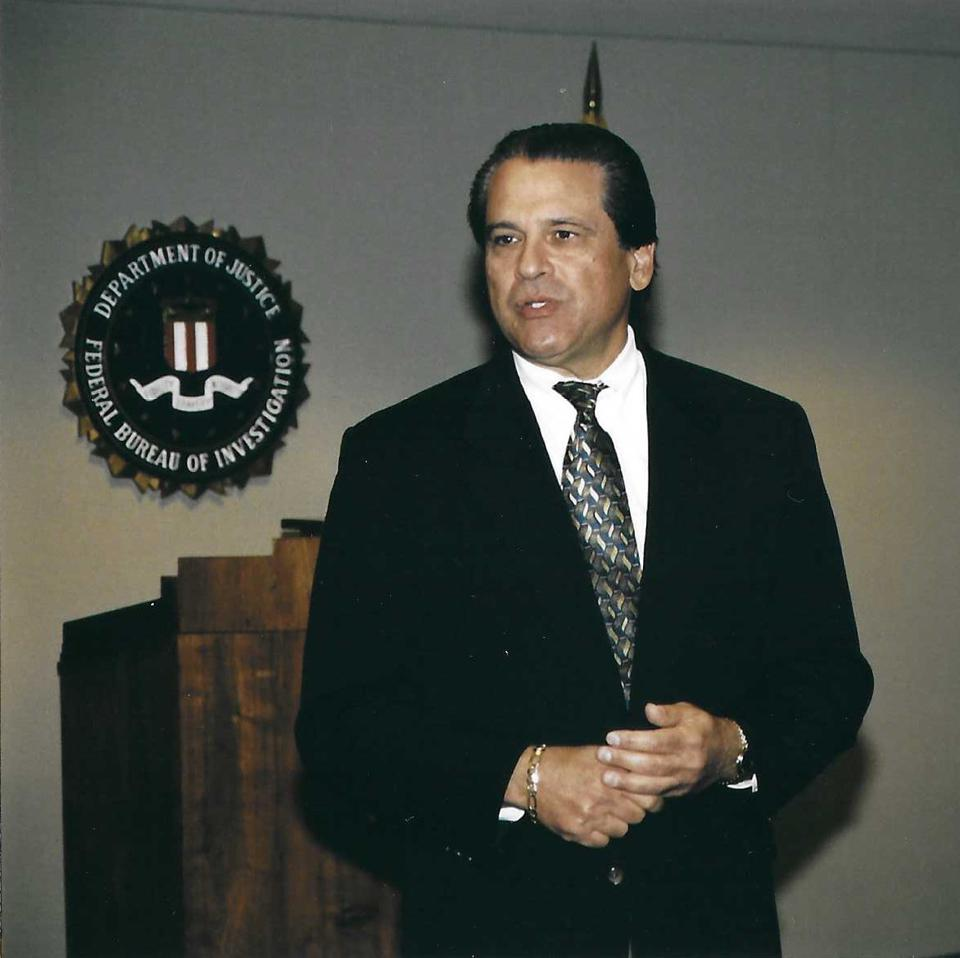 Take-No-Prisoners G-Man:  FBI agent Gentile in 1993. By then, he was starting to soften up.