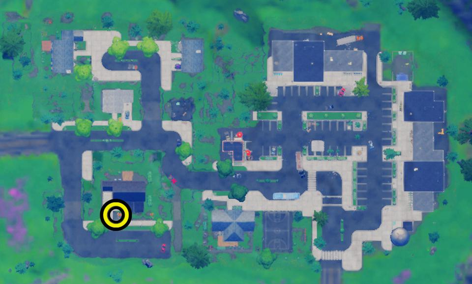 Blue Coin Retail Row Map