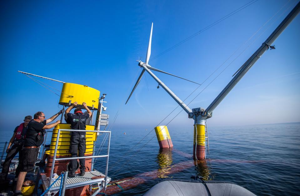 Novel off-shore wind turbine Nezzy2