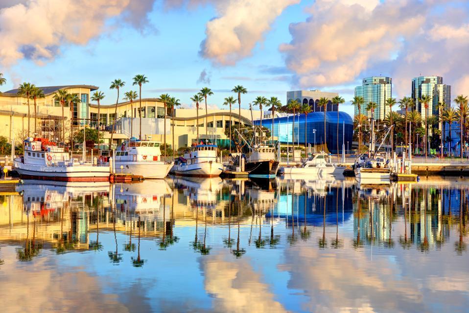 Long Beach california cleanest city america