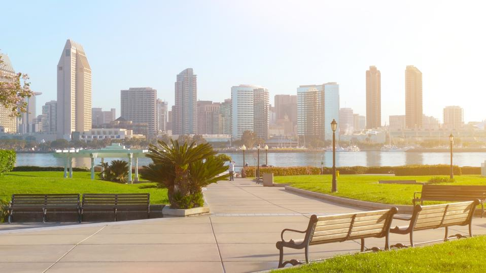 San Diego california second cleanest city america