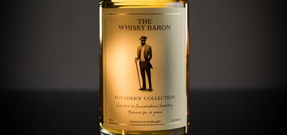 Bunnahabhain The Whisky Baron Single malt scotch whisky islay