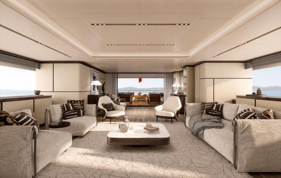 The demand for yachts like the FB 284 from Benetti pictured here has never been higher.