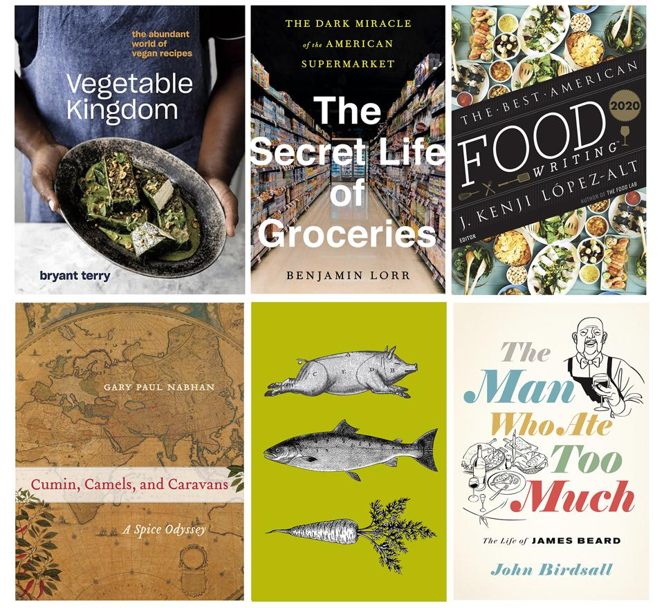 Food books were popular reading in 2020, the year of the sourdough and chickpea stew