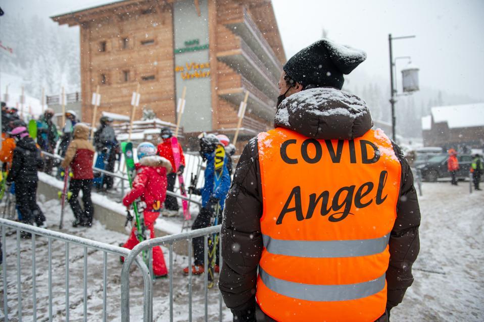 Swiss Ski Resort After Britons Bolt Covid-19 Quarantine