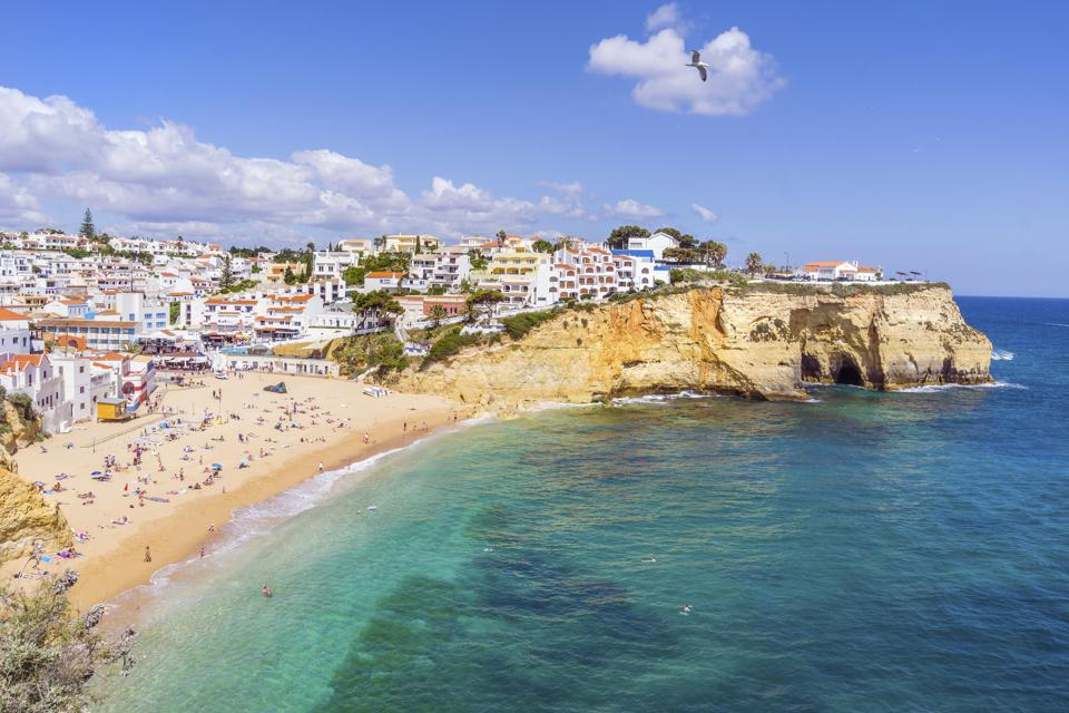 Carvoeiro portugal quit your job live move abroad