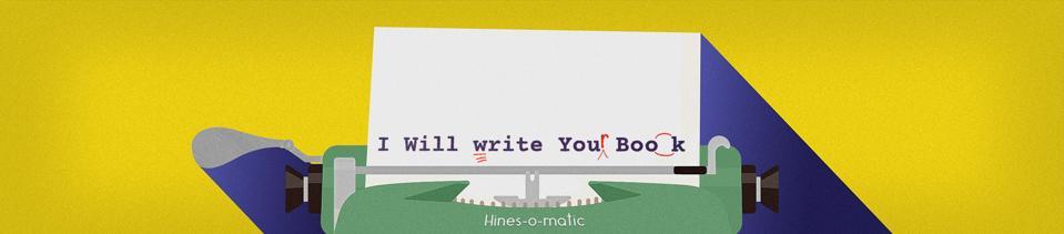 Vou escrever o logotipo do seu livro
