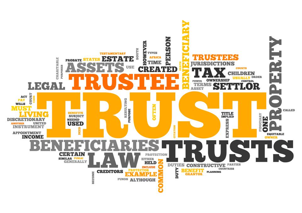 Organize a compilation of your 2020 trust planning now!