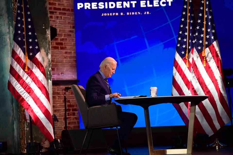 President-Elect Biden And Vice President-Elect Harris Briefed By National Security Advisers