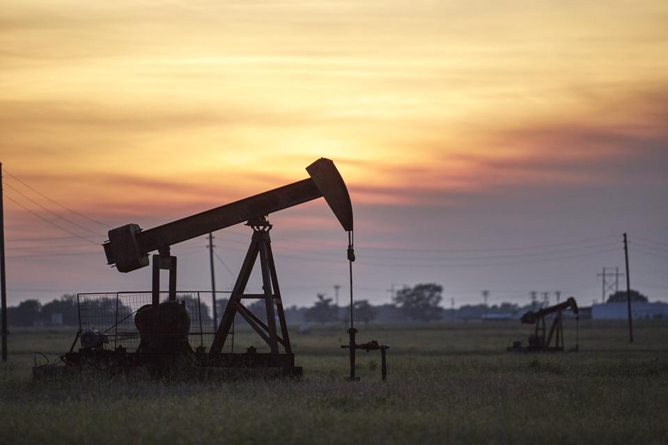 Oil pumps in Texas