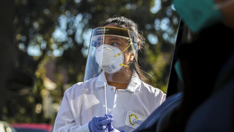 COVID-19, Coronavirus testing San Bernardino County Public Health Department.
