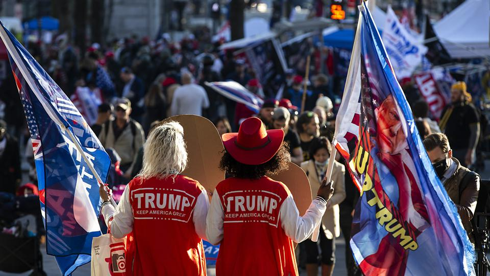 Supporters Of President Trump Gather In D.C. To Protest Election Results