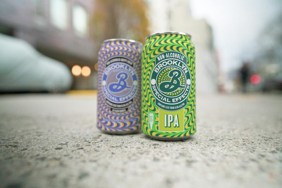 Cans of Brooklyn Brewery Special Effects