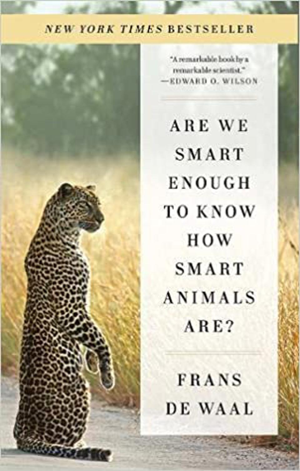 Frans de Waal's work has been published as New York Times bestsellers