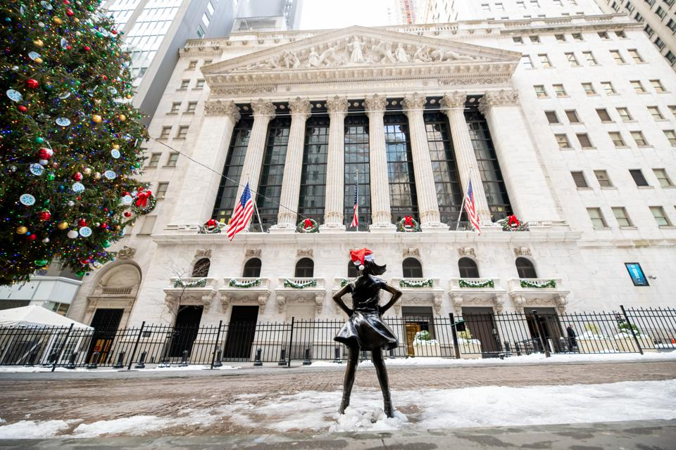 The New York Stock Exchange in Wall Street epitomizes the aggressive form of shareholder capitalism that drives the global economy today