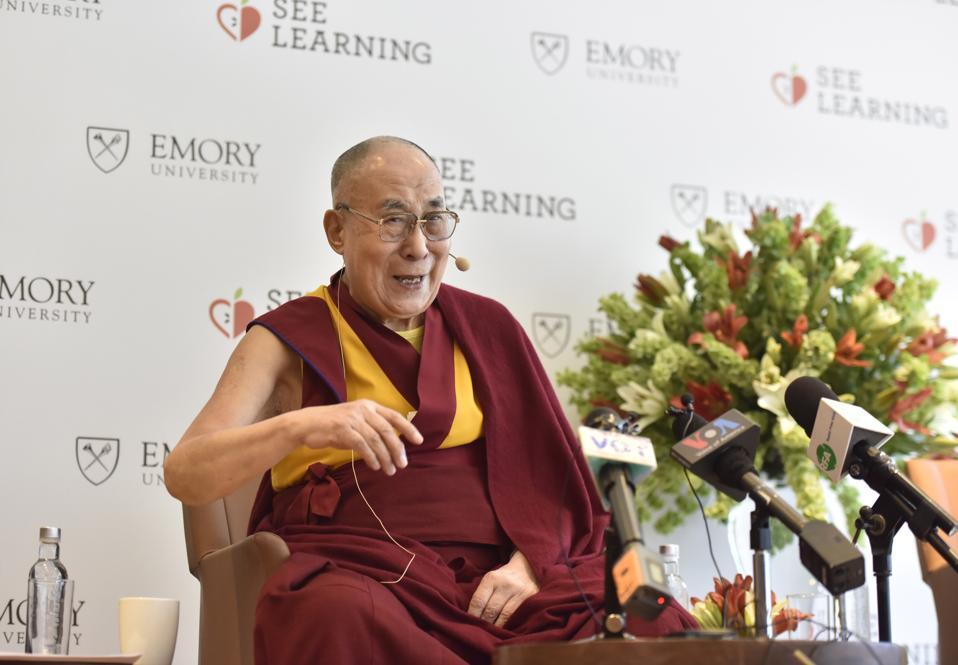 Press Conference Of Tibetan Spiritual Leader Dalai Lama