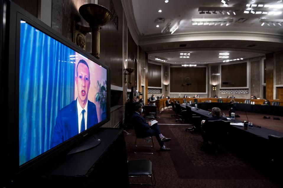 Tech CEO's Testify Remotely Before Senate Judiciary