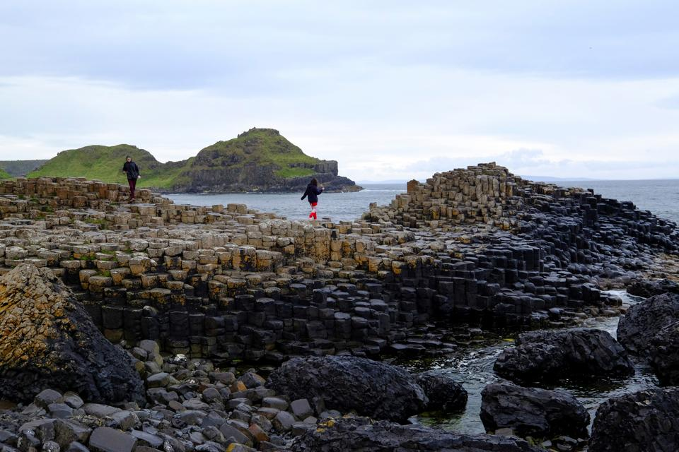 Giant's Causeway is just a five mile drive from the Old Bushmills Distillery