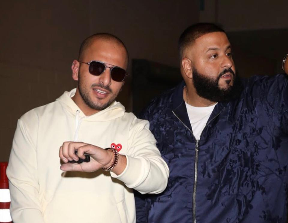 Dress for Success changes per work situation: Josh Rabbany was commissioned by Beats by Dre to liase their brand with DJ Khaled & Retna.