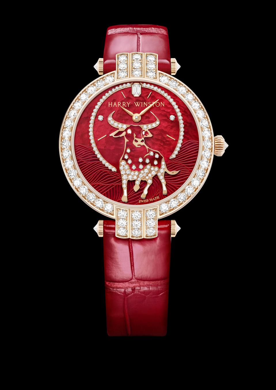 Harry Winston Premier Chinese New Year Ox Automatic watch.