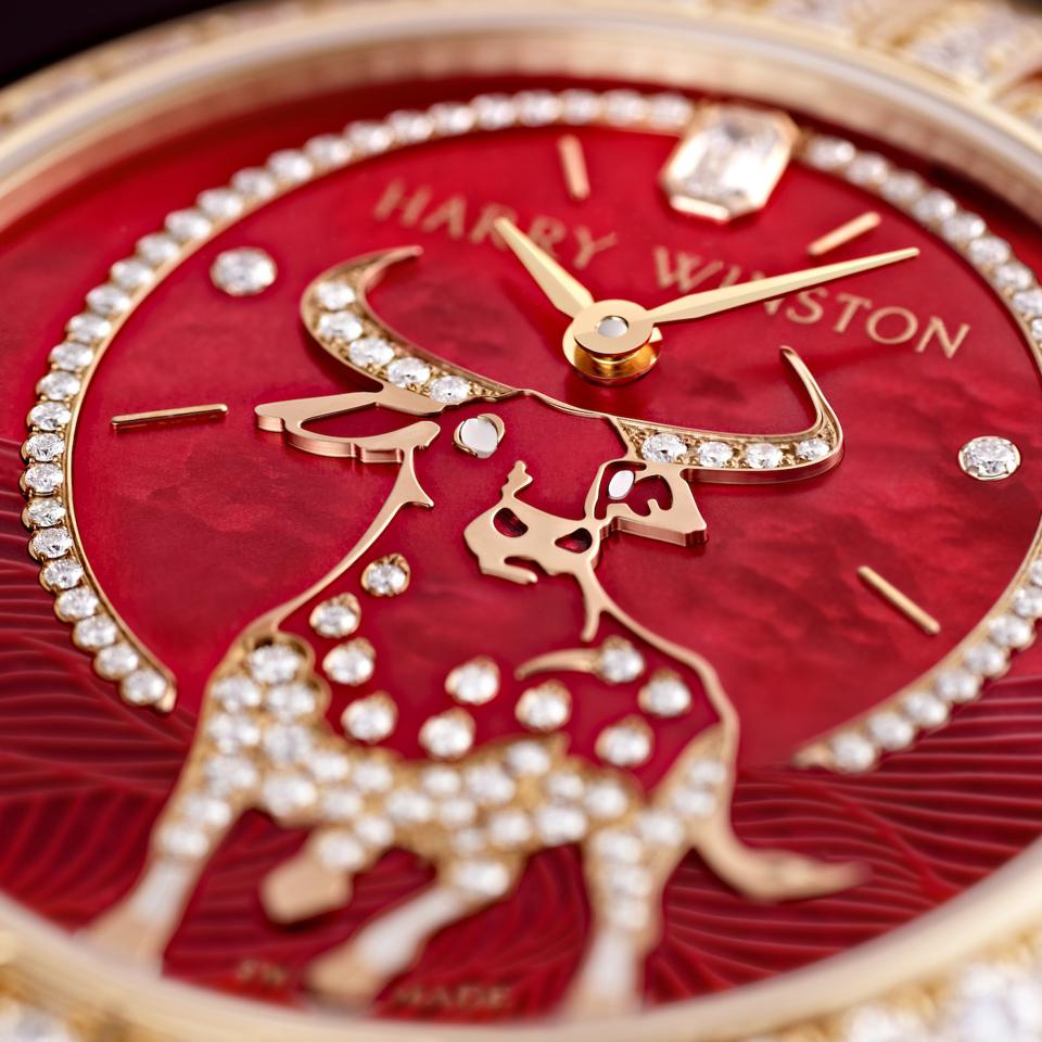 Year of Ox, Harry Winston Year of Ox watch, Chinese New Year