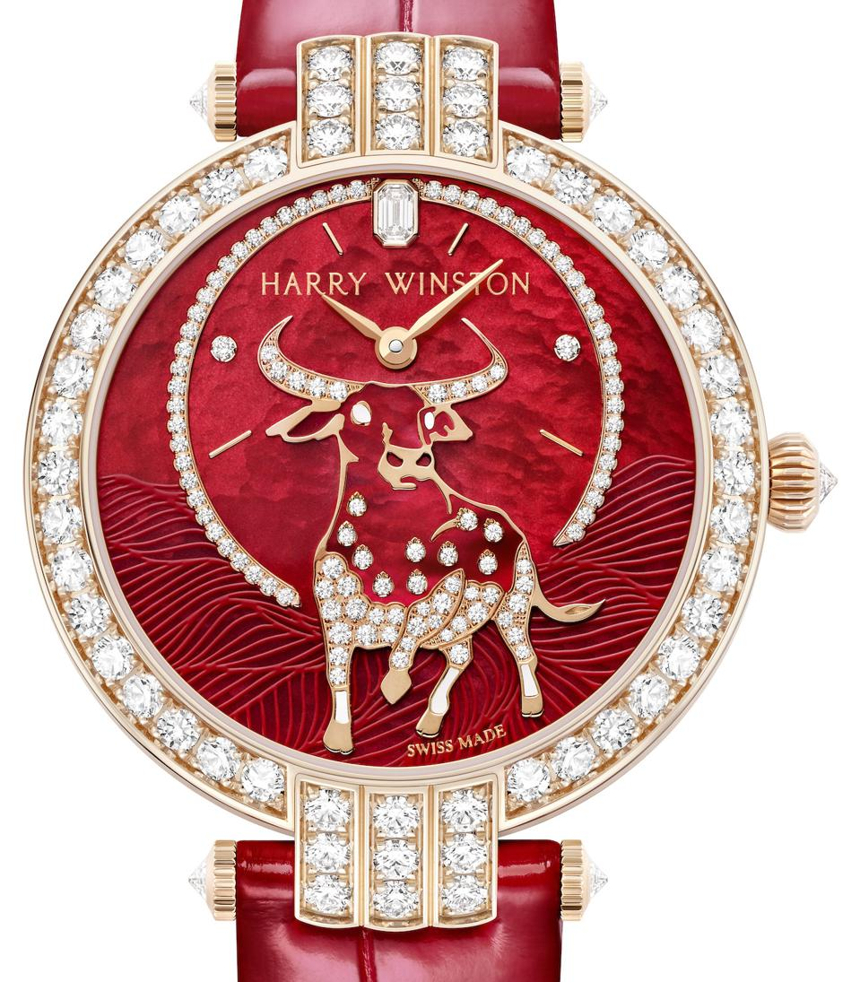Year of the ox, Chinese New Year watches, Chinese zodiac watches, Harry Winston Premiere ox