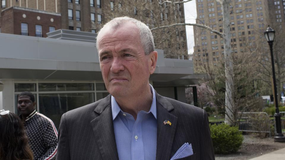 New Jersey Governor Phil Murphy...