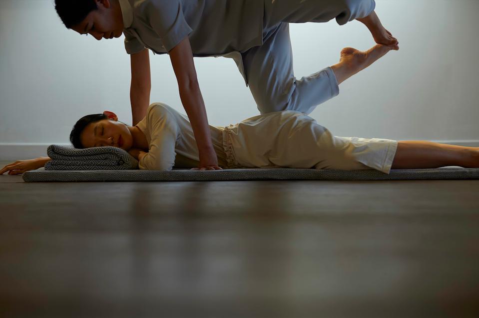 Therapies at the new wellness retreat, RAKxa.