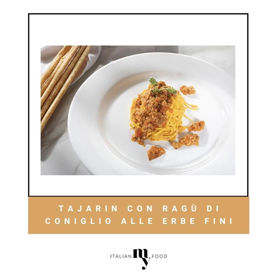 Tajarin with Ragu and not truffle