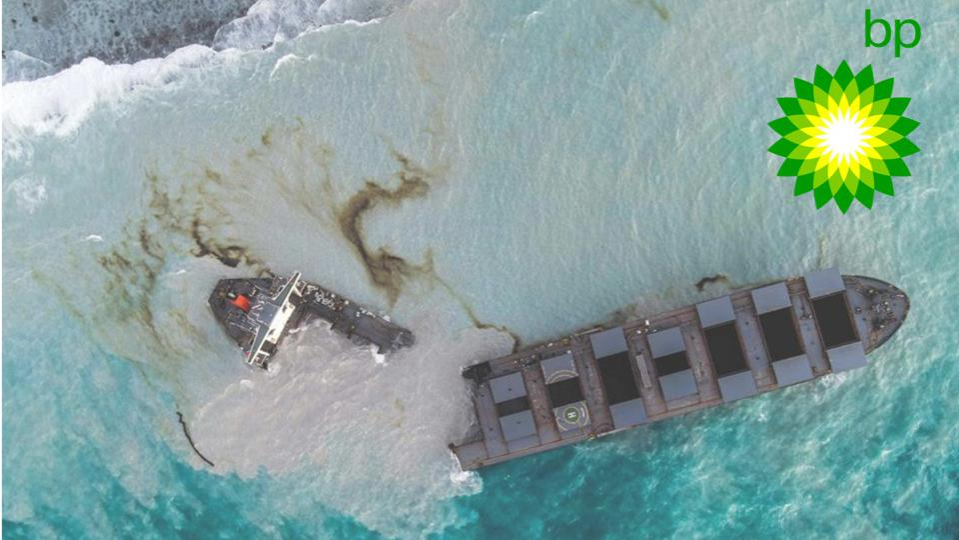 جنحت سفينة واكاشيو في موريشيوس في يوليو مع أكثر من مليون جالون من النفط على متنها. انسكب حوالي ثلث هذا على شواطئ موريشيوس والمحميات المحمية.