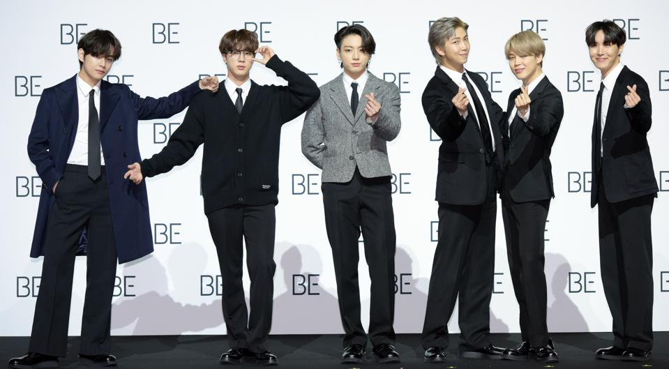 BTS's New Album 'BE (Deluxe Edition)' Release - Press Conference