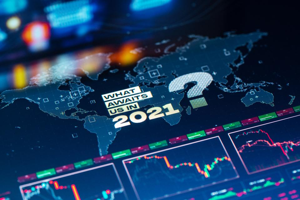 What Awaits Us in 2021 Background on World Map